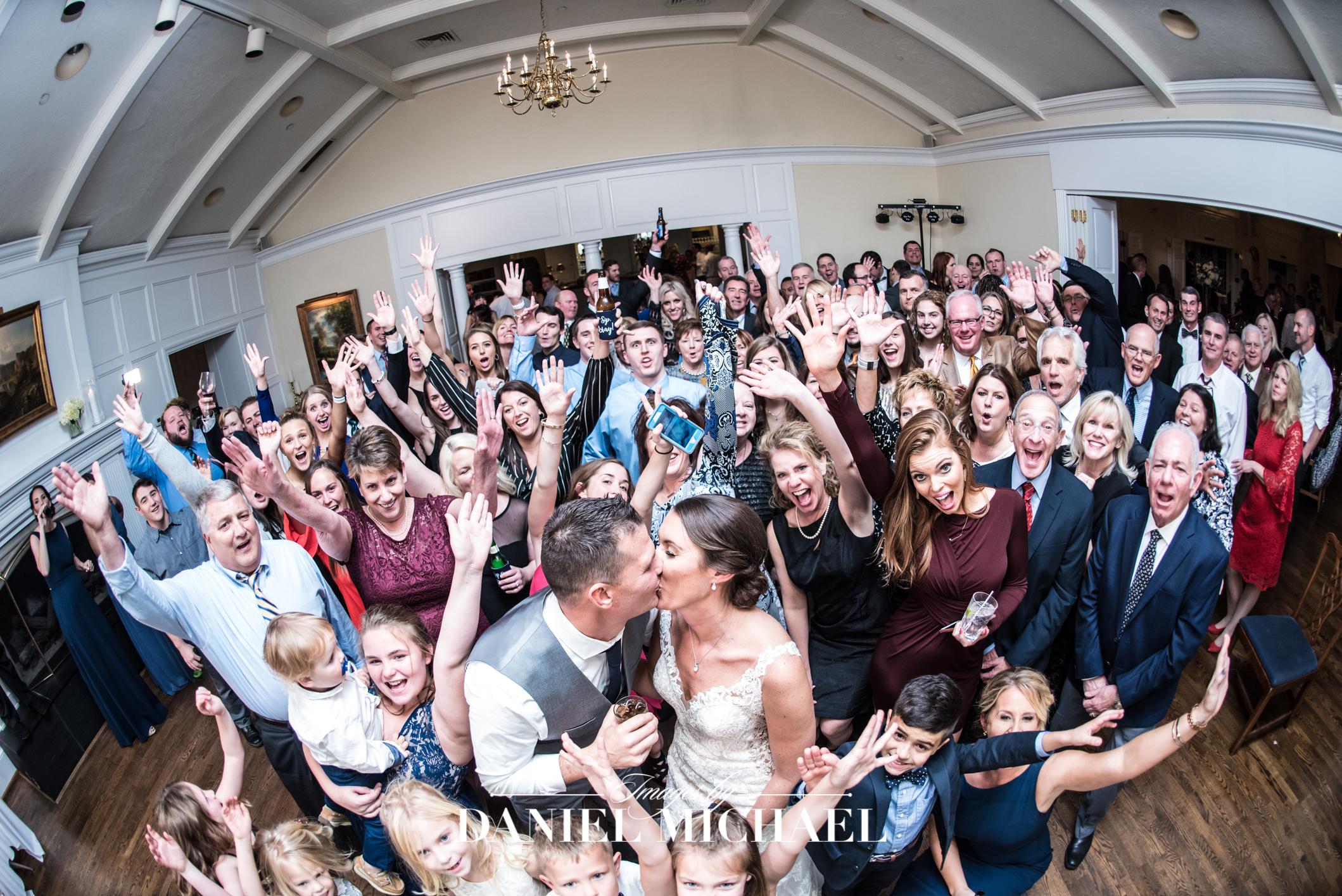 Hyde Park Country Club Wedding Venue Reception Photographer