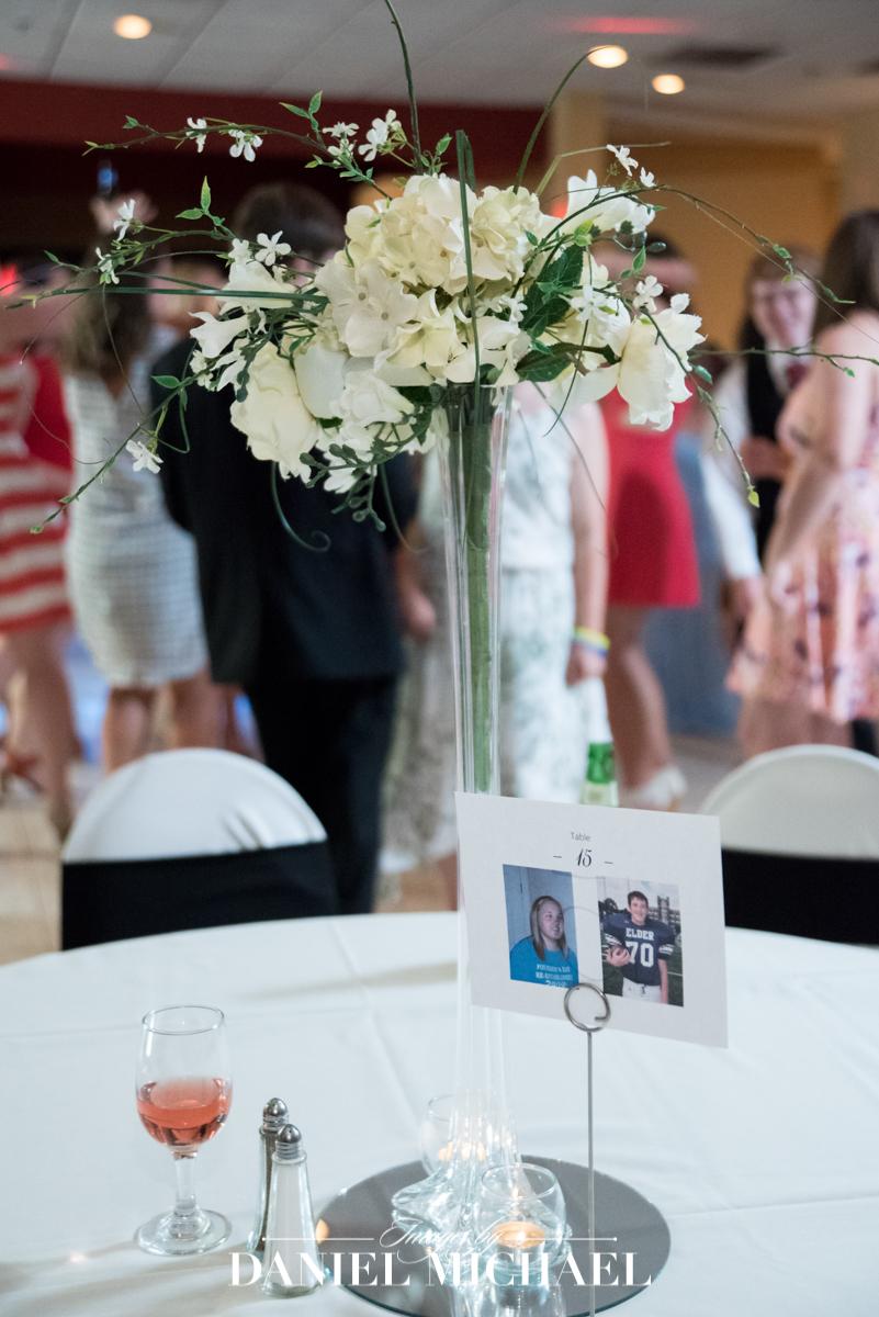 receptions west, wedding reception venue, centerpiece