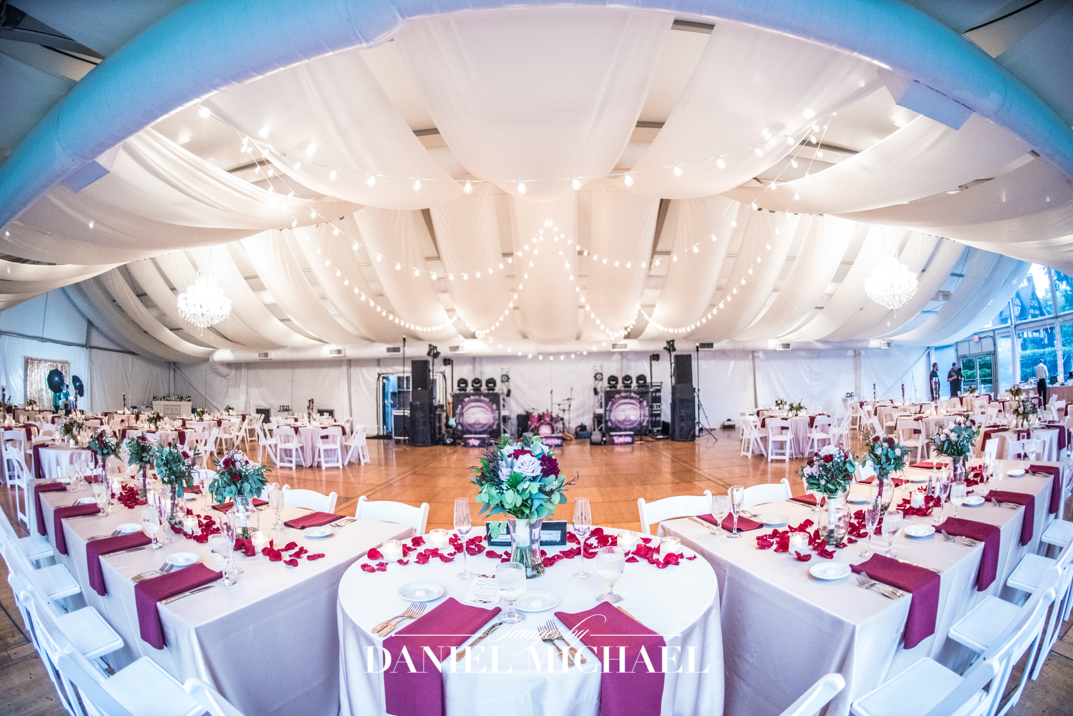Pinecroft Venue Wedding Reception Photographer