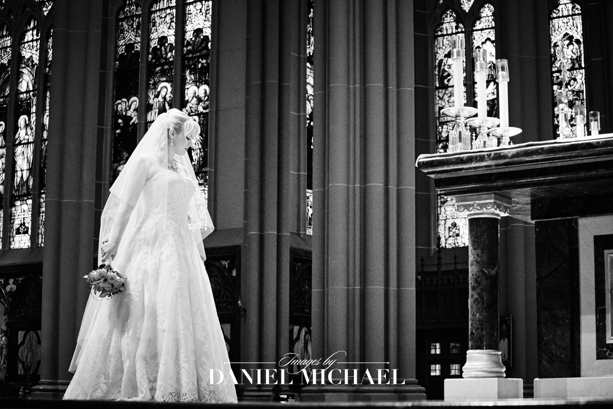 Cathedral Basilica Wedding Ceremony Photography