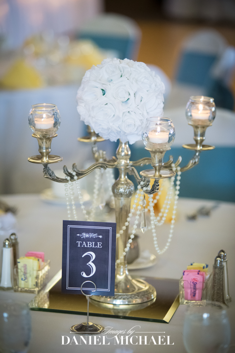 oasis, wedding reception venue, centerpiece