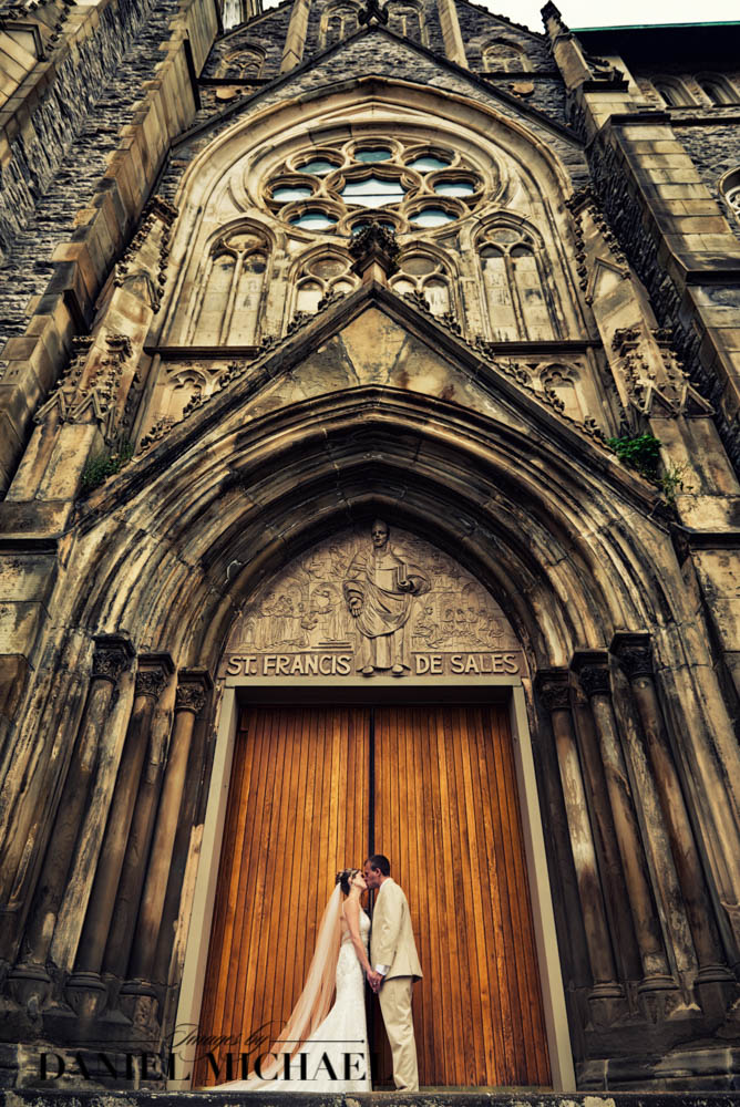 St Francis DeSales Wedding Photography