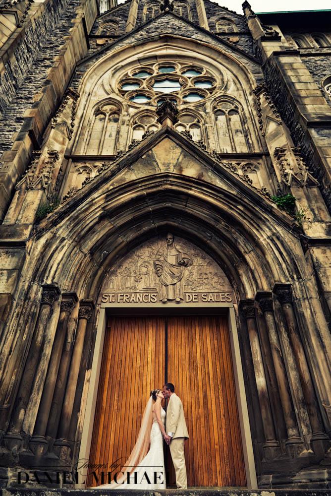 St Francis DeSales Wedding Photography