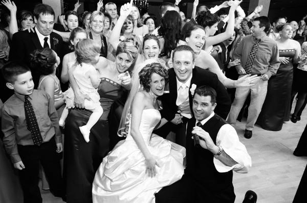 Group Photo Cincinnati Wedding