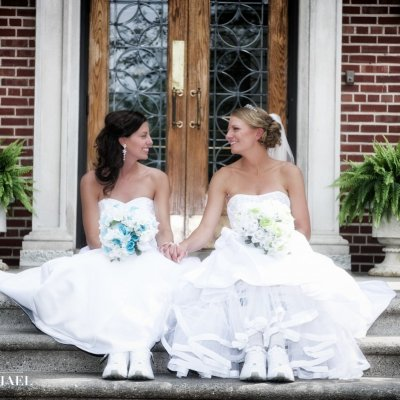Lesbian Marriage Wedding Photographers
