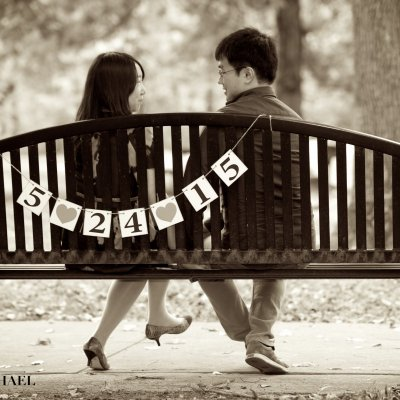 Engagement Photos Signs