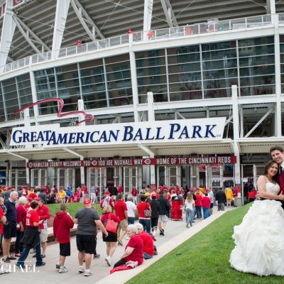Great American Ballpark Wedding Photographers