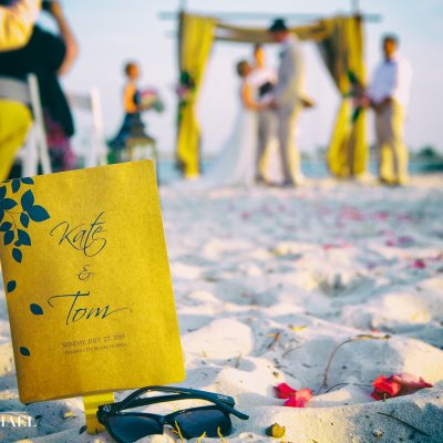 Beach Destination Wedding Photographers