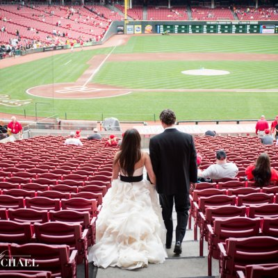 Wedding Photography at Great American Ballpark