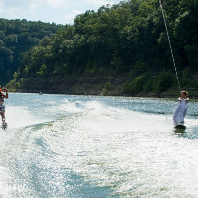 Wedding Wakeboarding