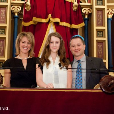Bat Mitzvah Portrait Photographers