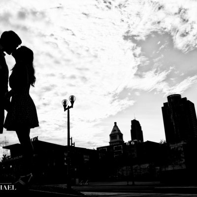 Engagement Photos Downtown Cincinnati