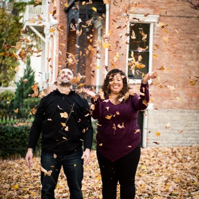 Fall Engagement Photographers Cincinnati
