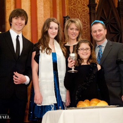 Family Bat Mitzvah Photography