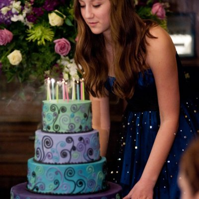 Bat Mitzvah Reception Cake Photos