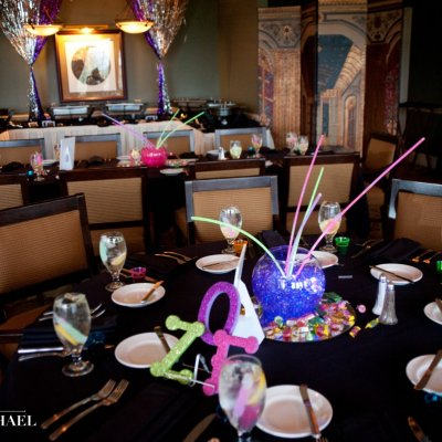Bat Mitzvah Reception Photography
