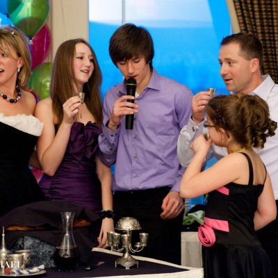 Bat Mitzvah Reception Photography Cincinnati