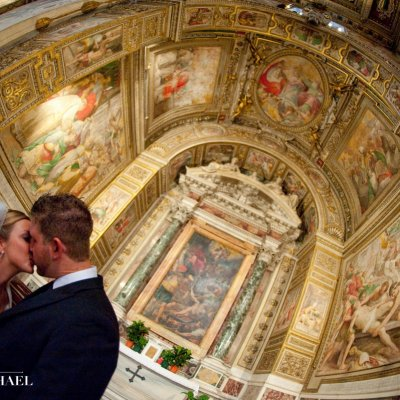 Rome Italy Wedding Ceremony Photography