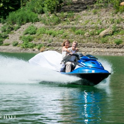 Jet Ski Wedding Photography
