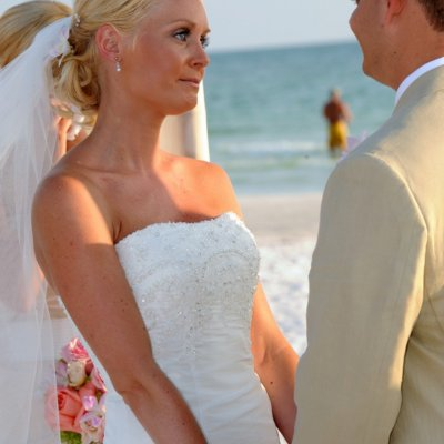 Wedding Ceremony on Beach Siesta Keys