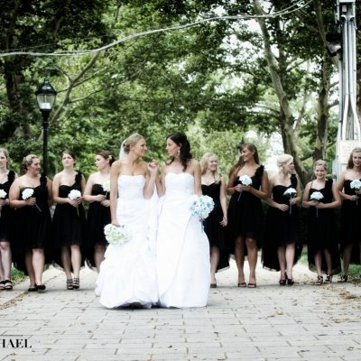 Same Sex Wedding Party Photography