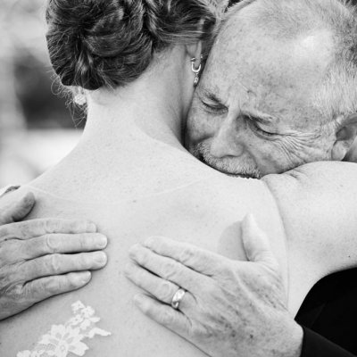 Dad Reveal Wedding Photography