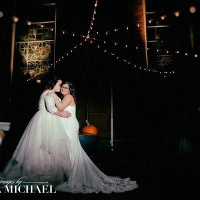 same sex wedding, bell event center, lesbian wedding, two women wedding