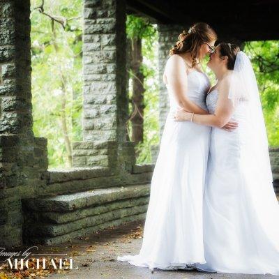 same sex wedding, lesbian wedding, two women wedding