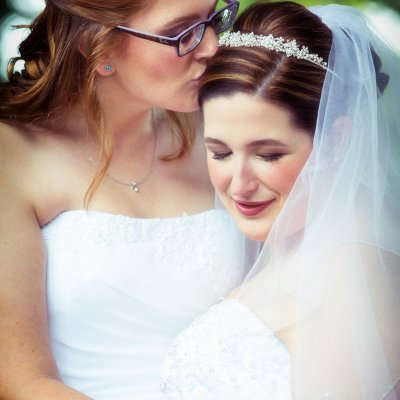 same sex wedding, two women wedding, lesbian wedding