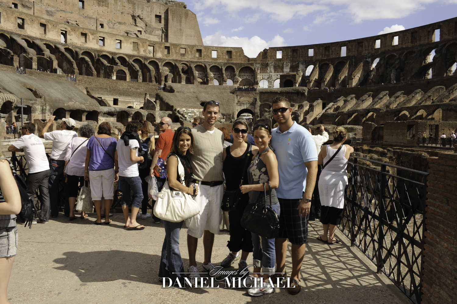 Destination Wedding Collosseum Rome