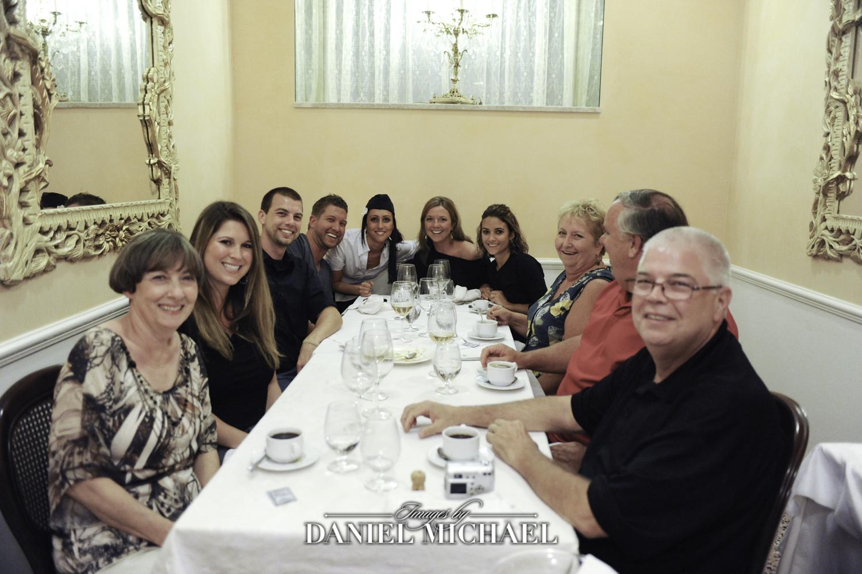 Dinner in Rome Italy