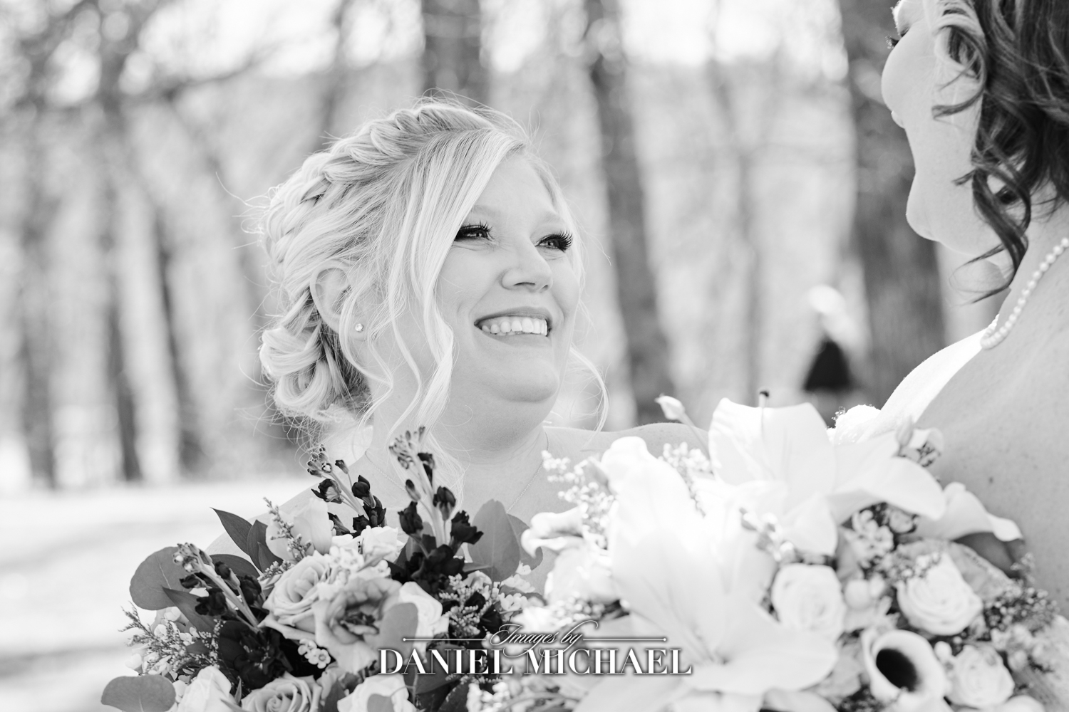 Bridesmaid Laughing Wedding Photography