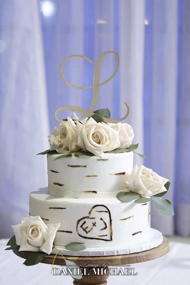 North College Hill Bakery Wedding Cake Photo