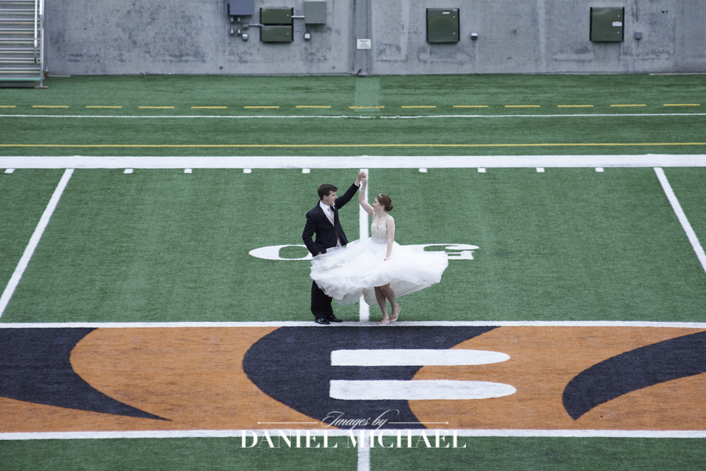 Paul Brown Stadium Wedding Photographer