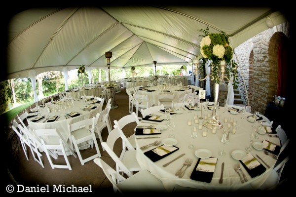 Alms Park Outdoor Wedding Reception