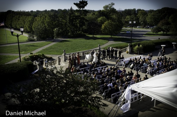 Ault Park Wedding Ceremony Cincinnati