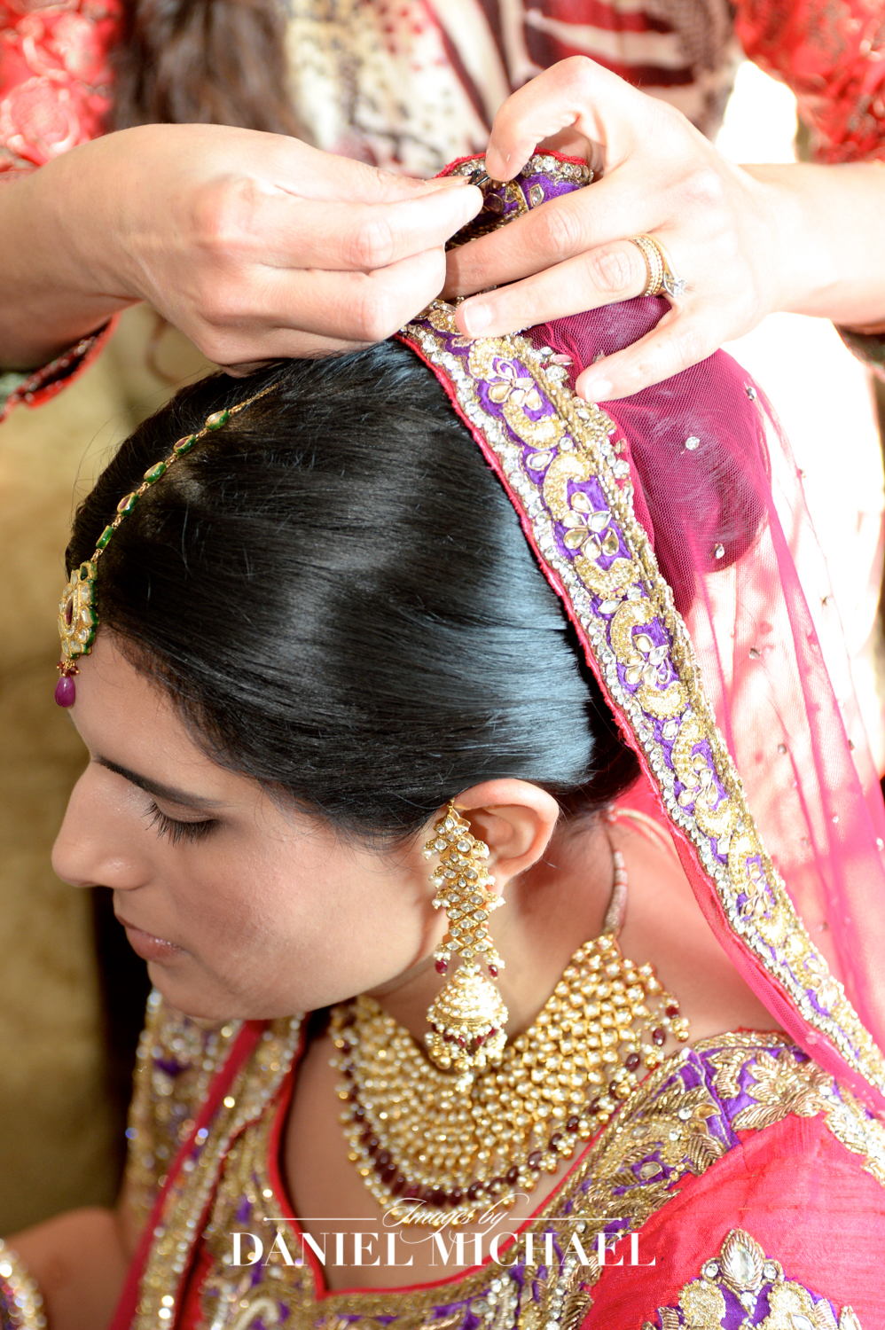 Getting Ready for Indian Wedding