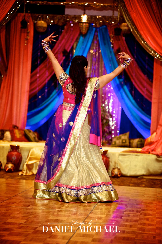 Indian Wedding Dances Photography