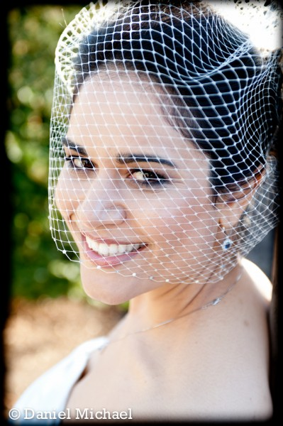Birdcage Veil Wedding Photos Cincinnati