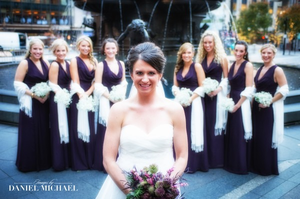Bridesmaids Wedding Photography Cincinnati