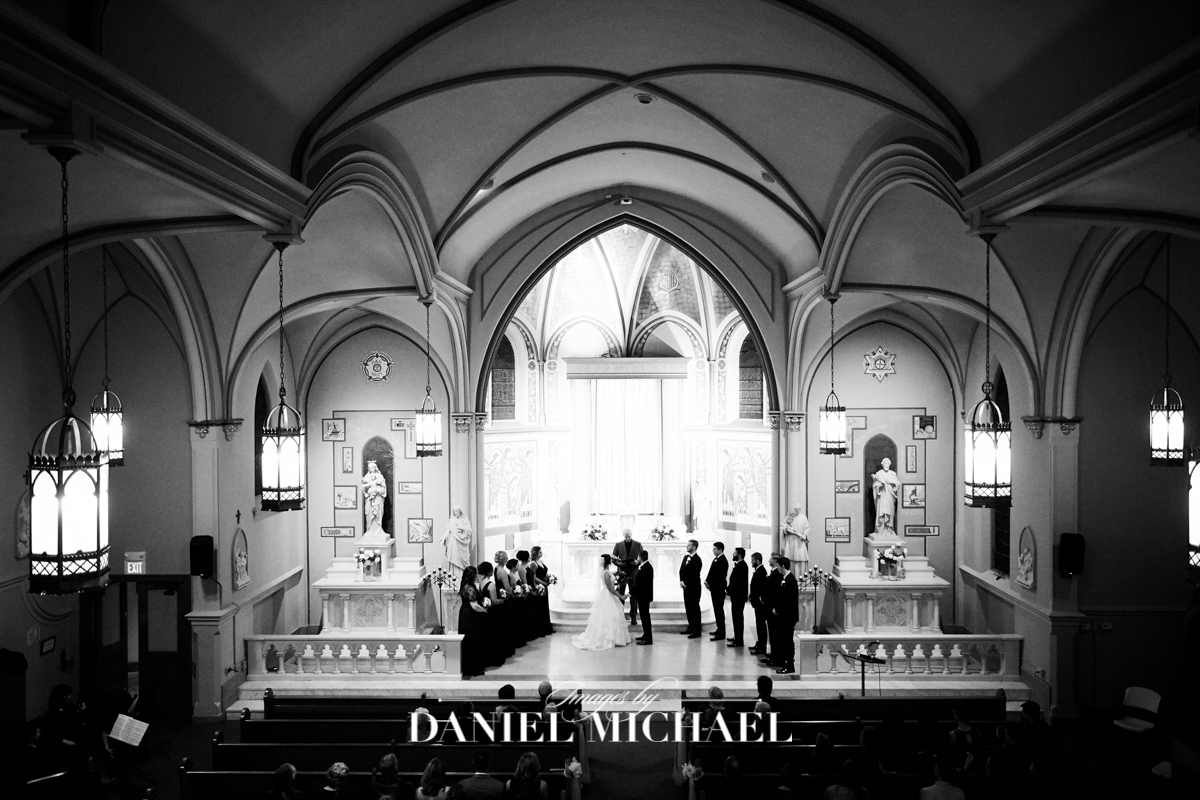 St Aloysius Wedding Ceremony Photography