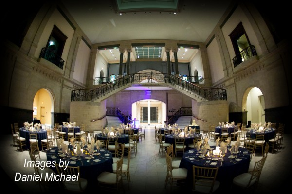 Cincinnati Art Museum Wedding Reception
