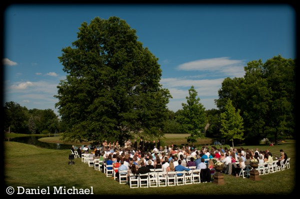 Cincinnati Outdoor Wedding Ceremony Photography
