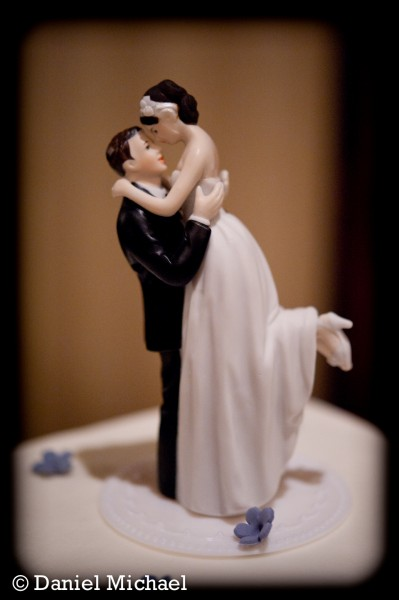 Cincinnati Wedding Cake Topper