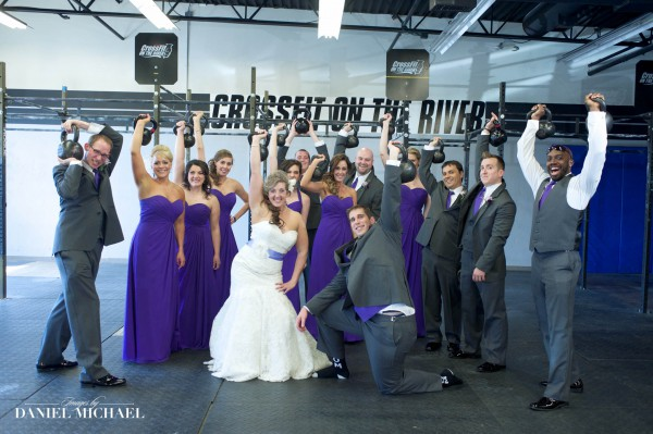 Wedding Photographers Cincinnati Crossfit