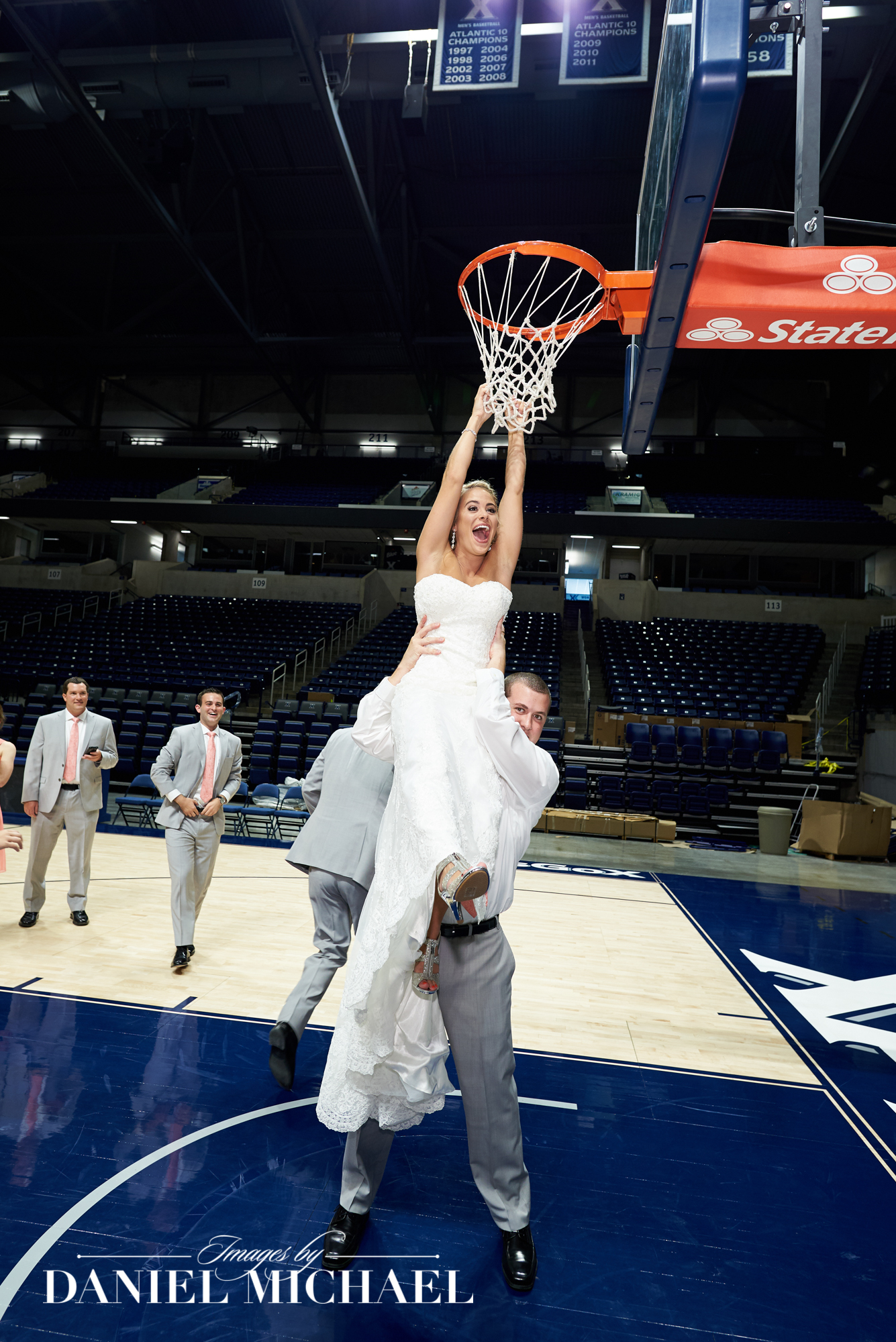 Wedding Photos on Court Cintas Center