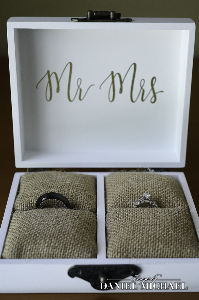Wedding Rings in Mr and Mrs Box