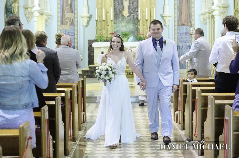 St Clare Wedding Ceremony Recessional
