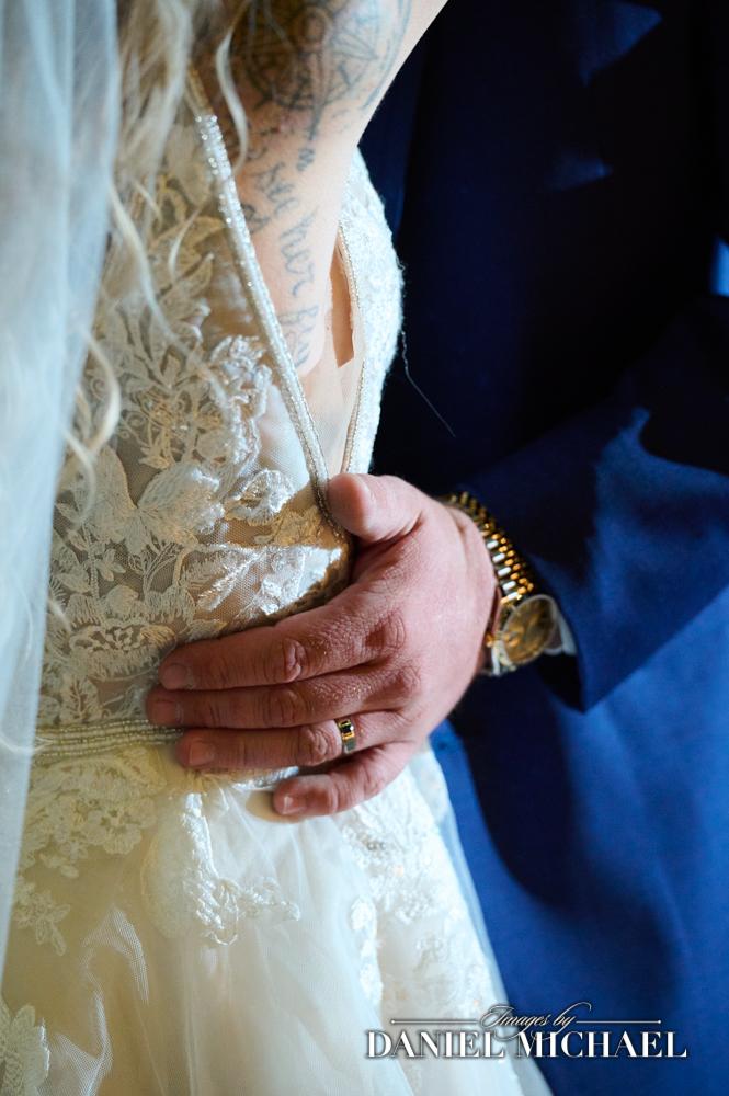 Rolex Wedding Gift and Bride's Dress