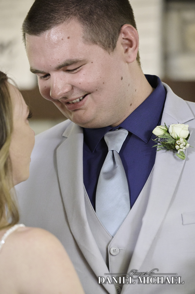 First Dance Groom's Expression Photo